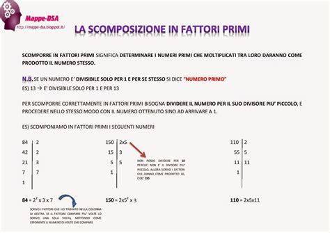 tavola periodica dei numeri primi la scomposizione in fattori primi