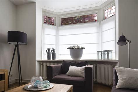 jaloezieen erker raamdecoratie in erker jasno