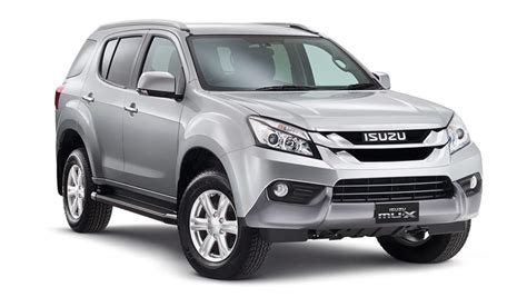 isuzu dmax 2015 isuzu adds new 4x2 d max and mu x models car news