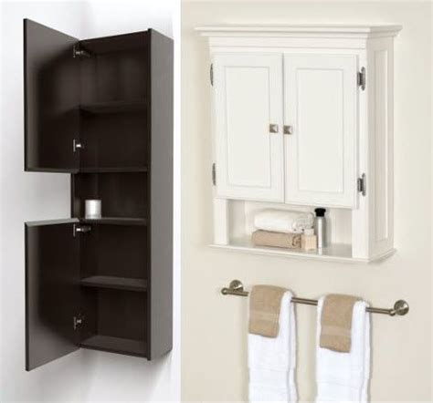 Bathroom Wall Storage Units Wall Mount Bathroom Cabinet Home Furniture Design