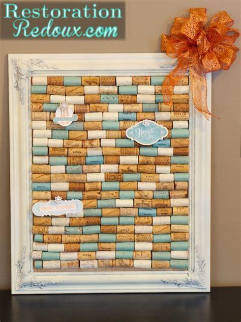 diy cork crafts diy wine cork bulletin board