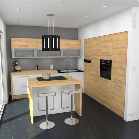 駘駑ents de cuisine cuisine tendance bois mod 232 le hosta ch 234 ne naturel cuisine