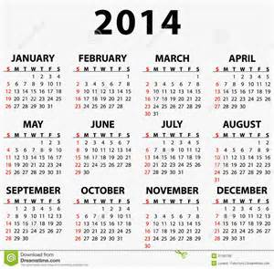 2014 Calendars Templates by Free Calendar Templates 2014 To Print