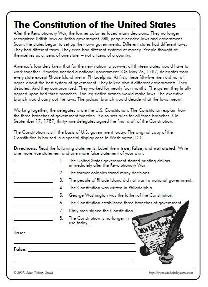 Constitution Worksheet High School by Constitution Worksheet Worksheets