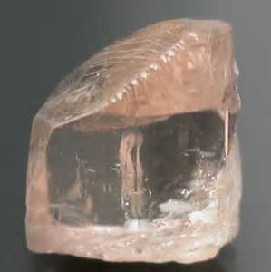 Imperial Chagne Topaz 12 80ct mine direct top medium peachy pink to pastel