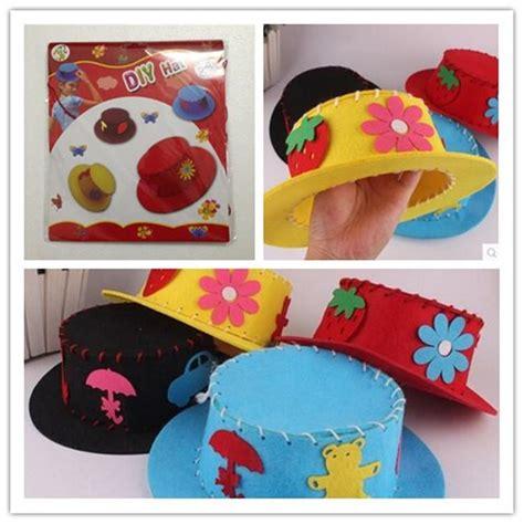 Handmade Toys For Boys - handmade diy craft for children non woven fabric hat