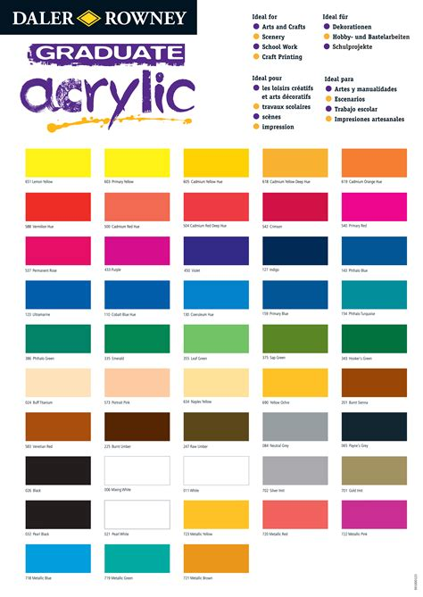 folk acrylic paint color conversion chart acrylic color mixing guide