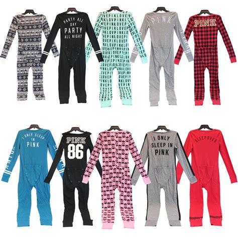 Piyama Pajamas Pink S Secret Pink Onesie Pajamas