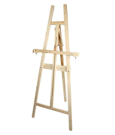 Standing Easel 3 In 1 Best Price duster brown 2 in 1 wooden purpose easel stand