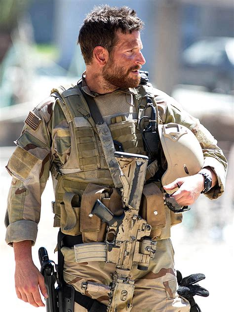 The American Sniper How Bradley Cooper Got Really Ripped To Play A Navy Seal In American Sniper American Sniper