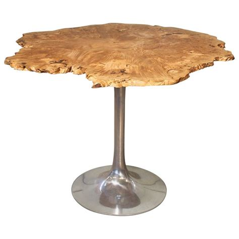 maple wood dining table dining table free form modern burl live edge maple wood