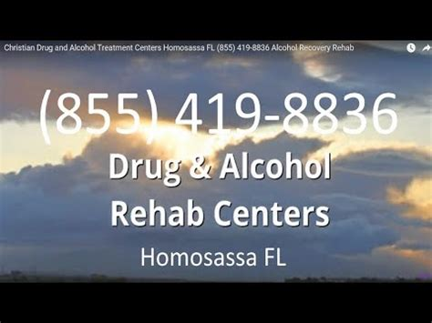Christian Detox Florida by Christian And Treatment Centers Homosassa Fl