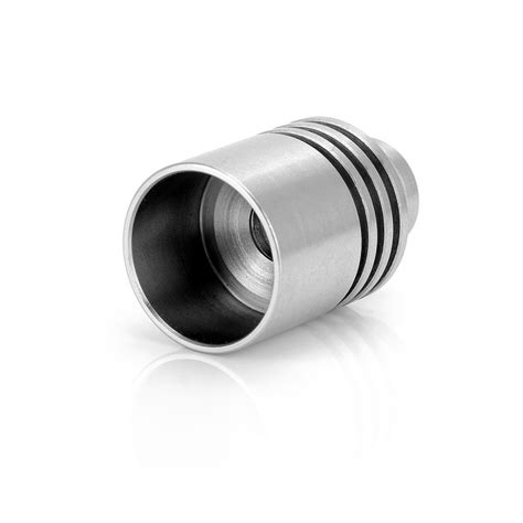 Wided Stainless Drip Tip 510 Model wide bore 21 8mm silver stainles steel 510 drip tip
