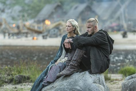 vikings alexander ludwig reveals 5 things about bjorn section of randomness