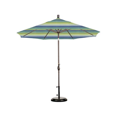 California Patio Umbrellas 9 Aluminum Push Tilt Patio Umbrella California Umbrella Ebay