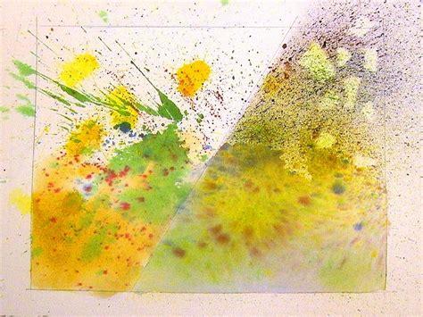 watercolor splash tutorial watercolor techniques splatter spray watercolor