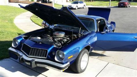 buy car manuals 1975 chevrolet camaro parking system sell used 1975 chevy camaro runs and drives good 4 speed manual good clutch in hemet