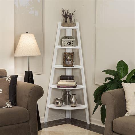 Corner Ladder Bookcase Top 12 Amazing Corner Ladder Shelves For Your Home Office