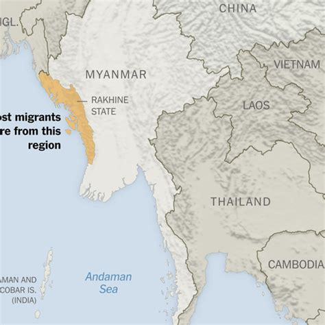 understanding the open boat boat with hundreds of migrants from myanmar heads farther