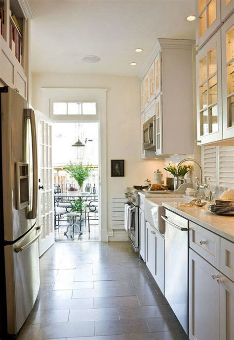 47 Best Galley Kitchen Designs Decoholic Designs For Small Galley Kitchens
