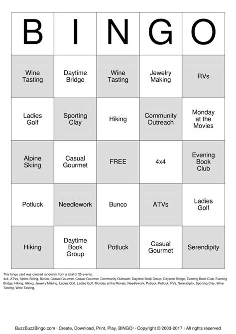 4x4 bingo template custom bingo cards to print and customize