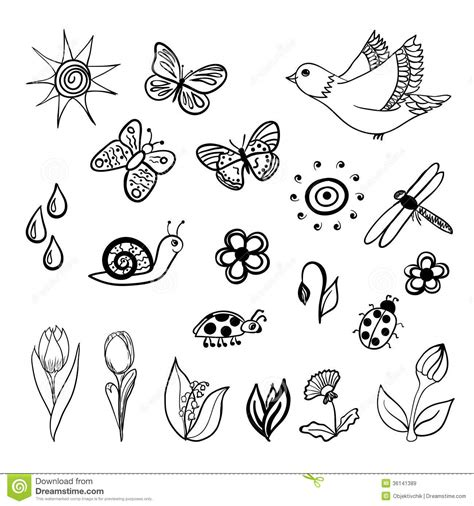doodle drawings images doodles royalty free stock images image 36141389