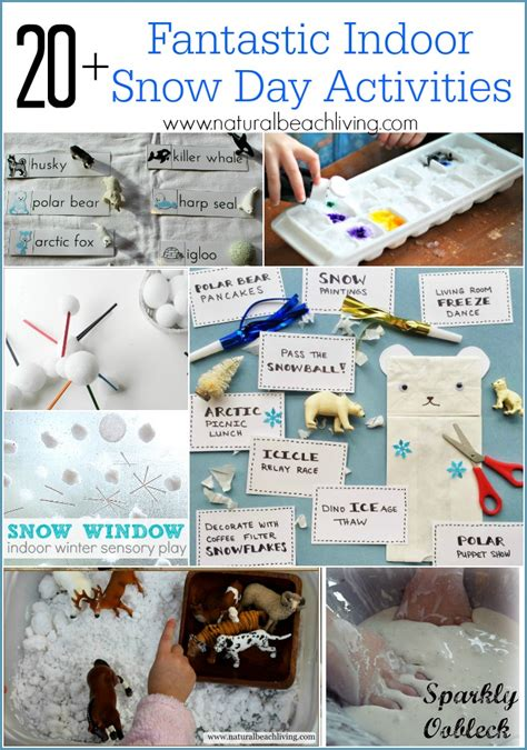 day activities for 20 fantastic indoor snow day activities