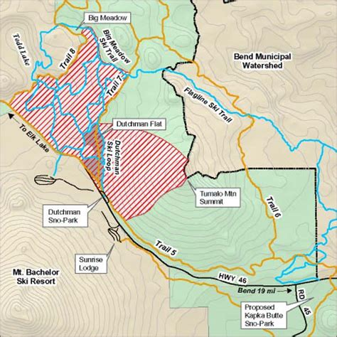 fort rock oregon map map of snowmobile use restrictions at dutchman flat near