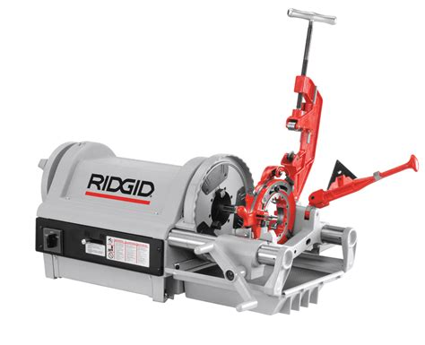 Threading Machine ridgid 26092 1224 pipe threading machine stand box sold