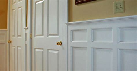 Mission Style Wainscoting Mission Style Recessed Panel Wainscoting Door Casings Arts