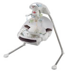 fisher price lil papasan cradle swing new ebay