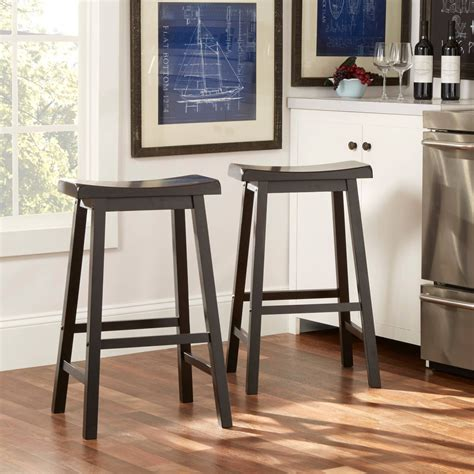 Line Cambridge Padded Stool by Exclusive Saddle Bar Stools In Home The Kienandsweet