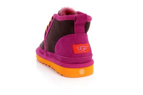 colorful uggs ugg neumel colorful 3236 slippers chocolate