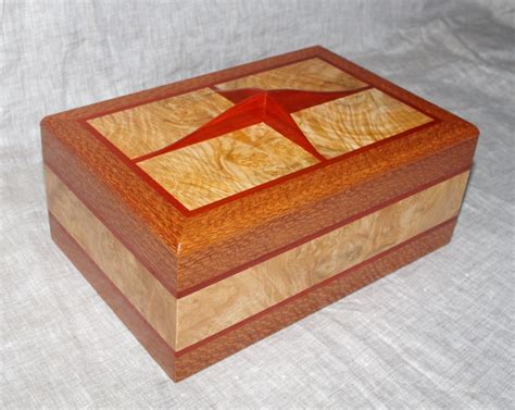 Handmade Keepsake Box - handmade wooden keepsake box jewelry box valet box solid