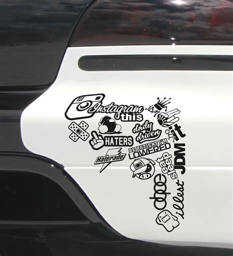 jdm sticker on car jdm stickers on cars window www pixshark com images