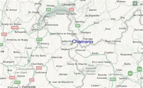 regional map local map detailed map chamonix ski resort guide location map chamonix ski