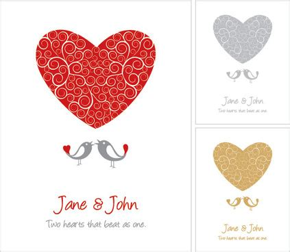 Wedding Card Eps by Wedding Card Vector Free Vector 12 902 Free