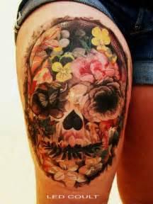 tattoos candy candy skull image 750844 on favim com