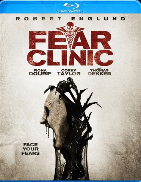 Fear Clinic | fear clinic featuring corey taylor blu ray and dvd