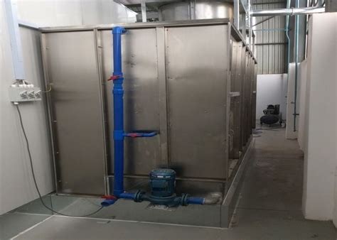 6 9m Woodworking Spray Booth Down Draft Paint Booth