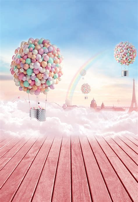 valentines day photography backdrop pink balloon