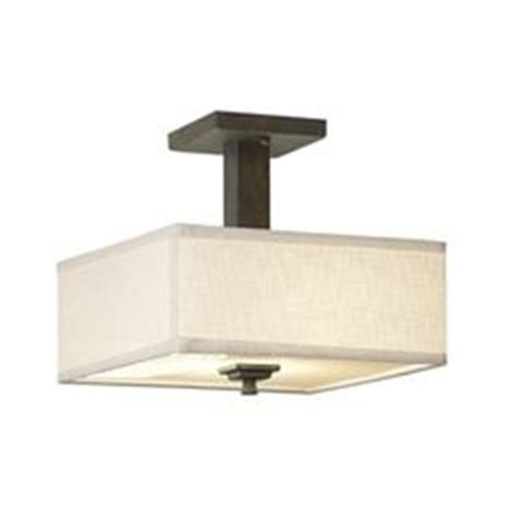Shop Portfolio 15 98 In W White Flush Mount Light At Lowes 23 Allen Roth Brushed Nickel Flush Mount Ceiling Light Fixture Lowes See Before And After