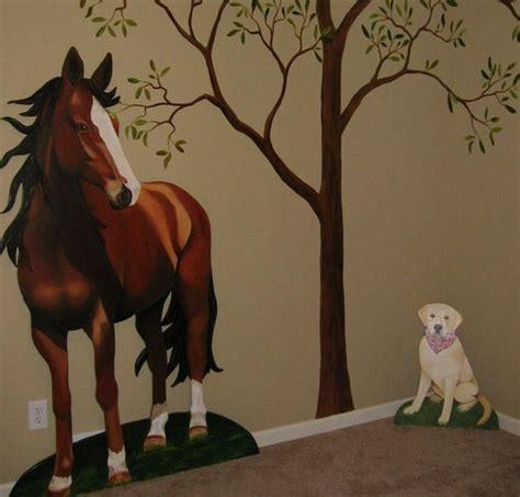 Asian Themed Bedroom horse wall murals 2017 grasscloth wallpaper