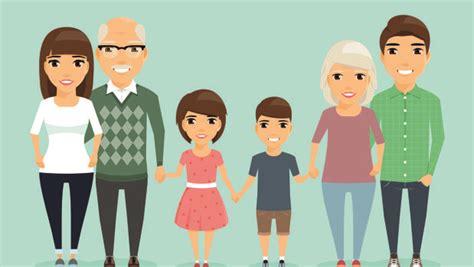 imagenes de la una familia vivir en familia y hacer tareas del hogar mejora salud