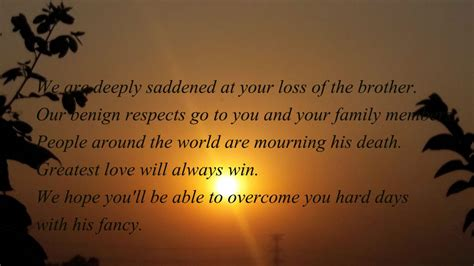 sympathy quotes for loss of my condolences quotes on the loss of