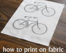 how to print on fabric the graphics fairy
