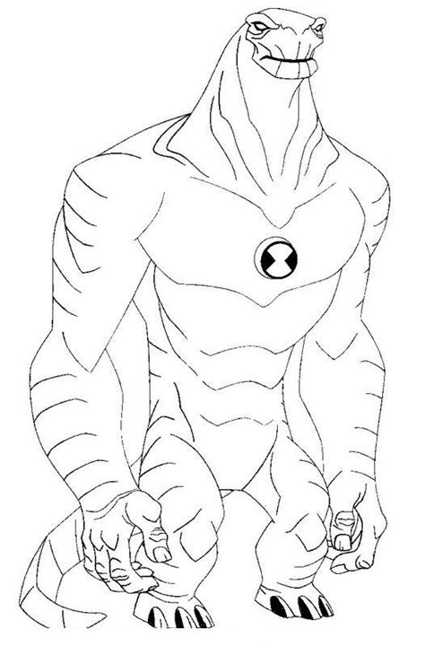 coloring book ep ben 10 episodes coloring pages