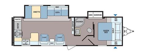 rear kitchen rv floor plans travel trailer floor plans with outdoor kitchen 28