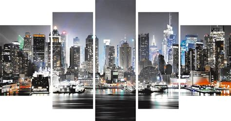 leinwandbild home affaire 187 new york city 171 110 60 cm
