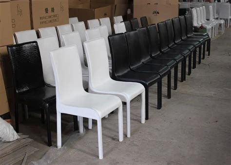 commercial dining chairs modern pu leather crocodile hardware pipe chair stools metal bar